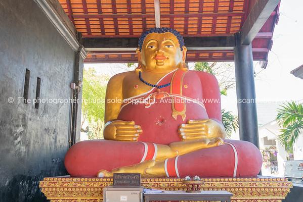 Statue of large Buddha image