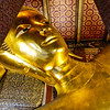 Wat Pho Giant Reclining Buddha Head and Neck
