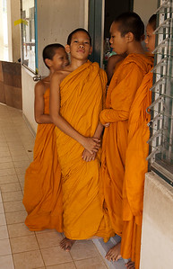 Youg Monks at school