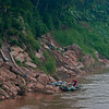 The Mekong River is the center of activity.  This river fluctuates hugely in the spring. the highwater mark is the edge of the jungle.