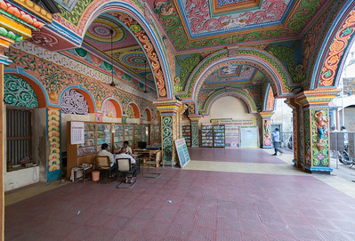 Saraswathi Mahal Library (சரசுவதி மகால் நூலகம்). Saraswathi Mahal Library or Tanjore Maharaja Serfoji's Sarasvati Mahal Library is located in Thanjavur, Tamil Nadu, India. It is one of the oldest libraries in Asia and has on display a rare collection of Palm leaf manuscripts and paper written in Tamil, Telugu, Marathi, Hindi and a few other languages indigenous to India. The collection comprises well over 49,000 volumes, though only a tiny fraction of these are on display. The library has a complete catalog of holdings, which is being made available online. Some rare holdings can be viewed on site by prior arrangement. There are also a number of old stone statues and idols on display.