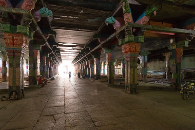 "Passage inside Vaitheeswaran Koil (Sri Vaidyanatha Swamy Temple) - Lord Angaraka Temple (The Planet Mars). Vaitheeswaran Koil or Pullirukkuvelur is a Hindu temple dedicated to the Lord Shiva. Shiva is worshipped as Vaitheeswaran or the ""God of healing"" and it is believed that prayers to Vaitheeswaran can cure diseases. Vaitheeswaran is a Tamil derivative from vaidya (Doctor) and Ishvara (God/Master). The presiding deity is Sri Vaidyanathan - the God of Healing. Location: village 7 kilometers from Sirkazhi, 27 km from Chidambaram, 110 km from Thanjavur in Tamil Nadu."