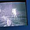 See?  Some geek in the moon landing video!