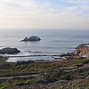 The remains of the Sutro baths.