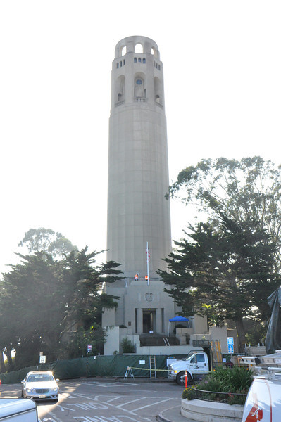 Great!  I truck into San Francisco, I scooter to Telegraph Hill, and Coit Tower is closed for renovation until next spring!