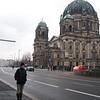 Laura in front of the Berlin Cathedral on Museum Isle