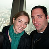 Brian and I at the top of the TV tower . . . not bad for a one-armed self portrait