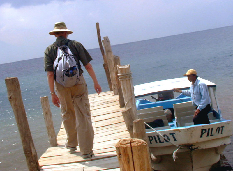 Mar 18.  I'm heading back to our small boat to return to where we left the van.