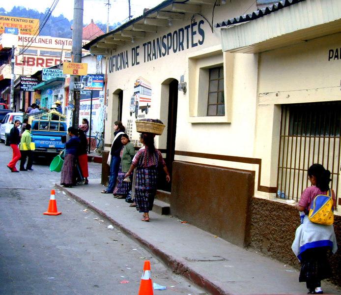 Mar 18.  A street scene.
