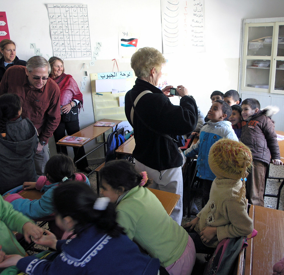 Feb 18.  We visited a primary school.  The students were energetic, friendly, and loved to be photographed.