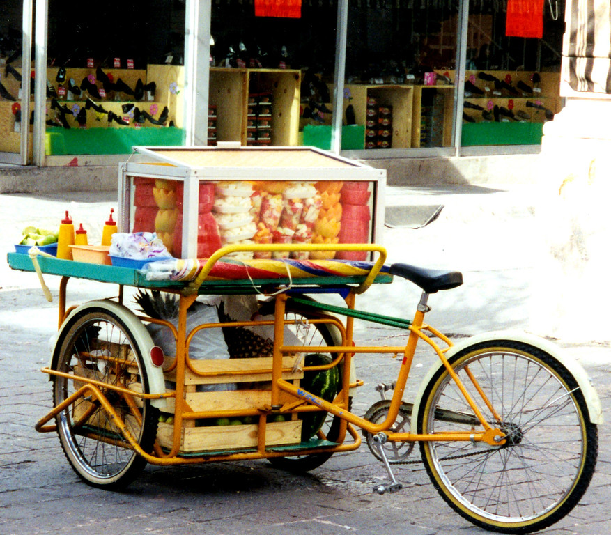 1999-02-21 06 Bicycle fruit stand.