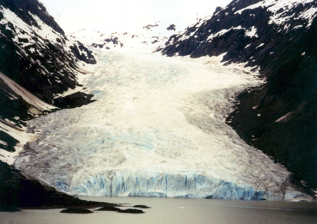 June 2.  Another glacier on highway 37A.