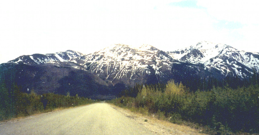 June 1.  Near Watson Lake, Yukon, we turned south onto highway 37 into British Columbia, a narrow blacktop road full of potholes and narrow bridges, but bears galore along the way.