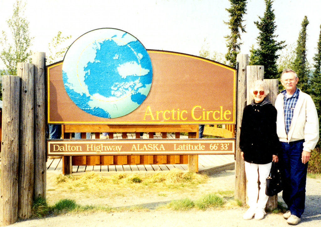 May 30.  Of course we stopped at the Arctic Circle.  We had cake and drinks during the 30 minutes or so we looked around.