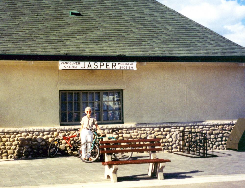 June 3.  We stayed the night in Jasper, Alberta.