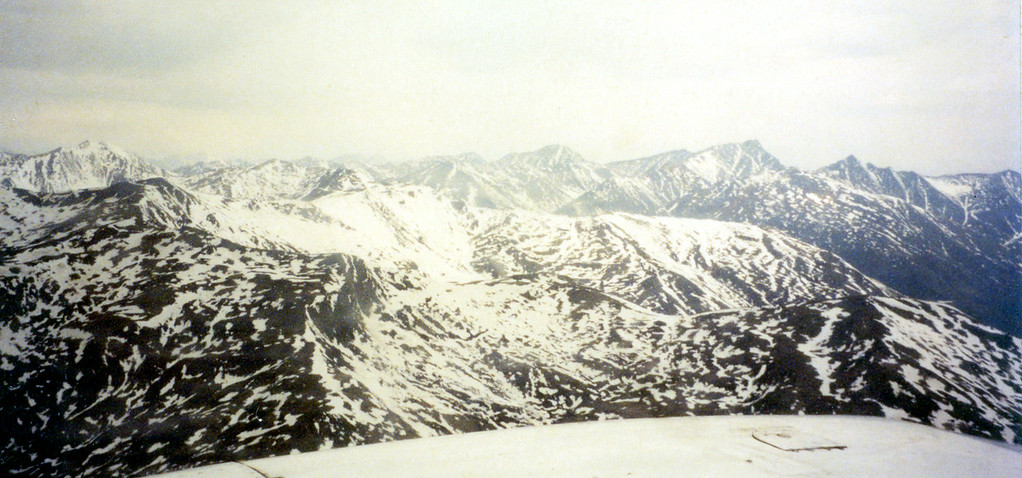 May 30.  Not far north of the Arctic Circle we boarded small planes to fly over the Brooks Mountains to visit an Eskimo village.  We flew between mountains and at times the mountains at eye level seemed close enough to touch.