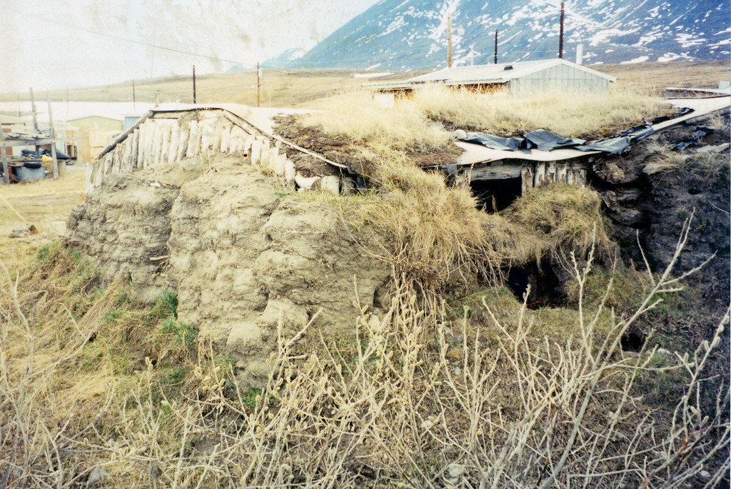 May 30.  This is one of three of the original homes of this Eskimo group.  No one lives in a home like this today.