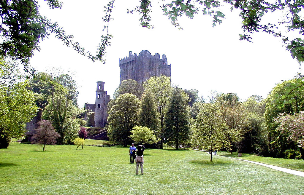 May 16.  As we left Blarney Castle, I took this picture.  I waited a moment, but this couple wanted the picture too, so I took it with them in it.  I can say they're there for perspective.  Okay?