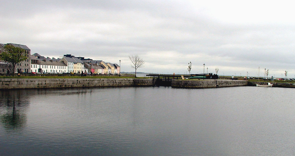 May 10.  The River Corrib, Galway across the way.  We are in Claddagh, a small fishing village in the oldest part of Galway.  The only significance to this picture is it is my first digital vacation picture.