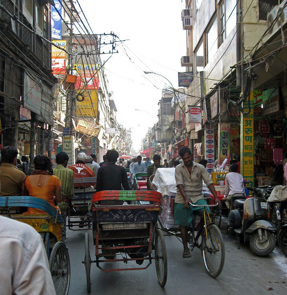 Feb 26.  Rickshaws are a common means of transportation for Indians too.  They are also used to transport goods.