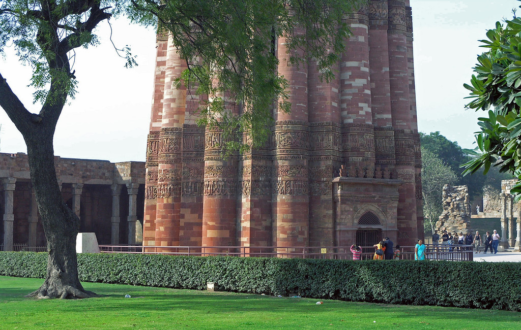 Feb 27.  Qutab Minar.