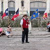 Telling of the last days of fighting at the Alamo