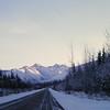 1 05 mile 1340, south of Robinson River crossing, north of Tok, AK, Yukon Terr, Alaska Hwy,  nov 26, 1972