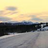 2 12b  mile 837  Savanga Lake, Yukon Terr, Alaska Hwy,  nov 28, 1972
