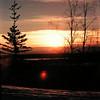 1 07 mile 1272, Alaska Hwy - Tanana River,  near yukon border, nov 27, 1972