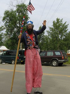 Fourth of July parade in Talkeetna, Alaska