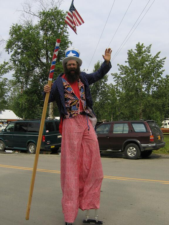 Fourth of July parade in Talkeetna, Alaska
