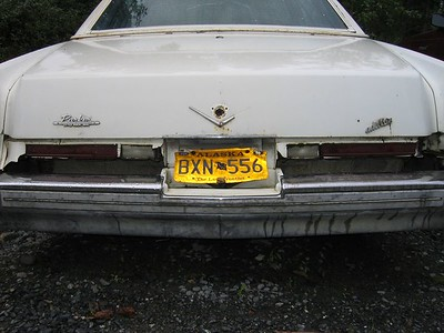 Cadillac in McCarthy, Alaska