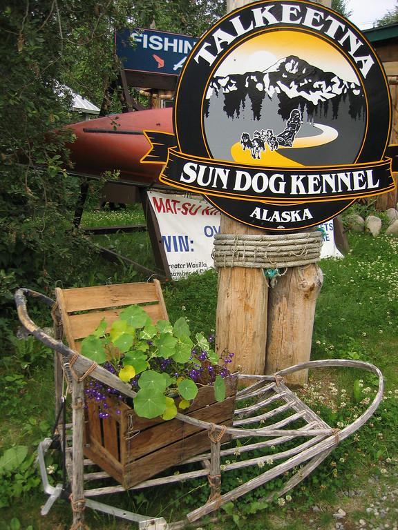 Talkeetna Sun dog Kennel, Alaska