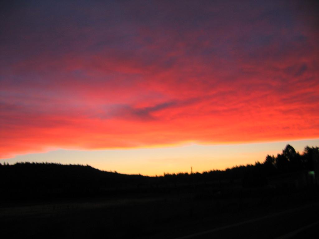 Sunset in Denali National Park, Alaska