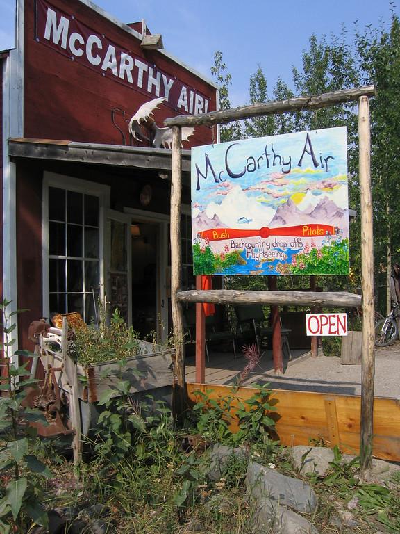 McCarthy Air scenic flights in Alaska