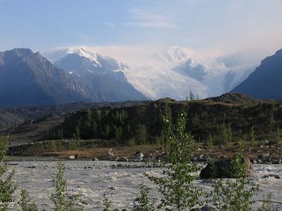 Route Glacier in McCarthy, Alaska