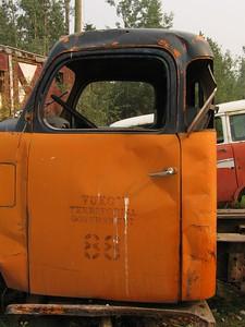 Yukon Territory truck in Yukon, Canada