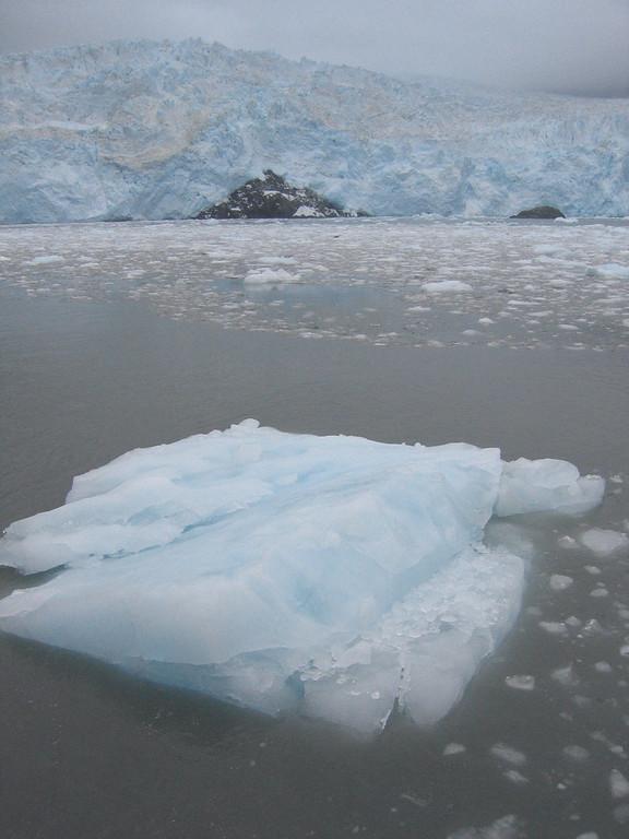 Icebergs in Kenai Fjords National Park Alaska