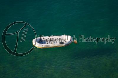 Life raft. Positano, Italy.