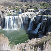 The drive home from Grand Teton took us across southern Idaho to Twin Falls, so we stopped there at the Shoshone Falls state park to see what gave the town its name.