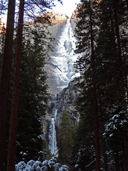 Yosemite Falls - winter view