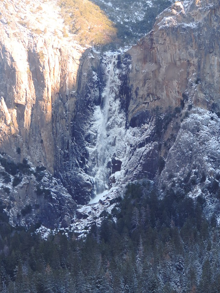Yosemite Falls from Tunnel View