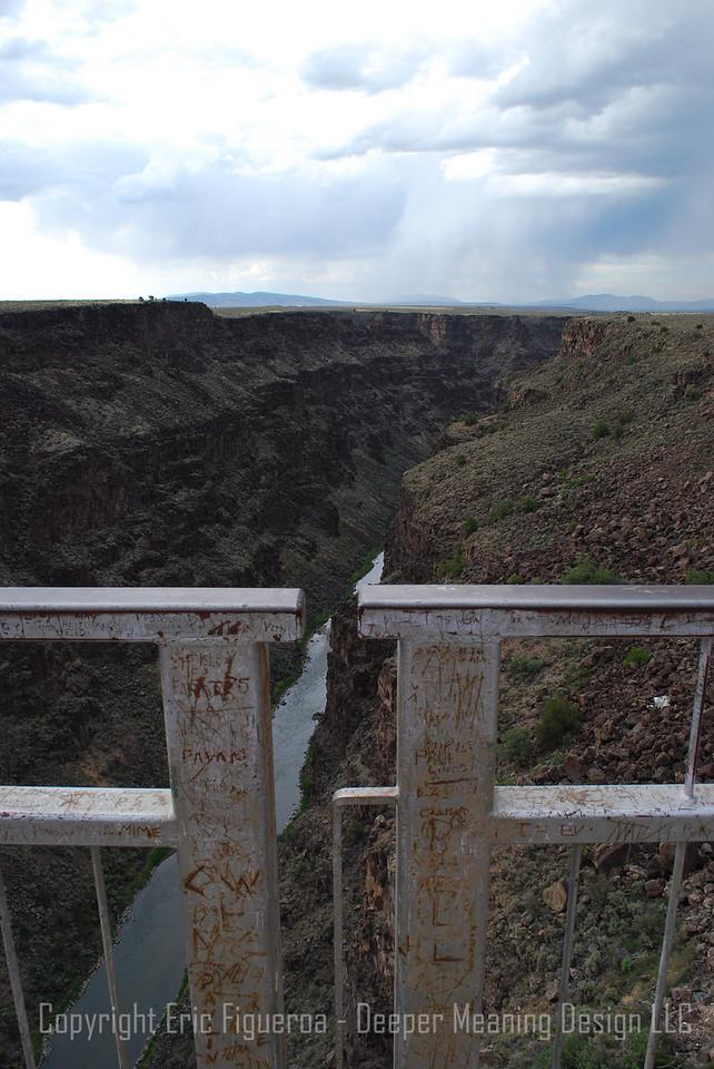 Rio Grande; Taos, New Mexico