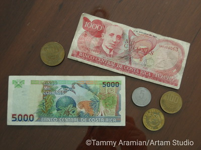 some of the beautiful local currency