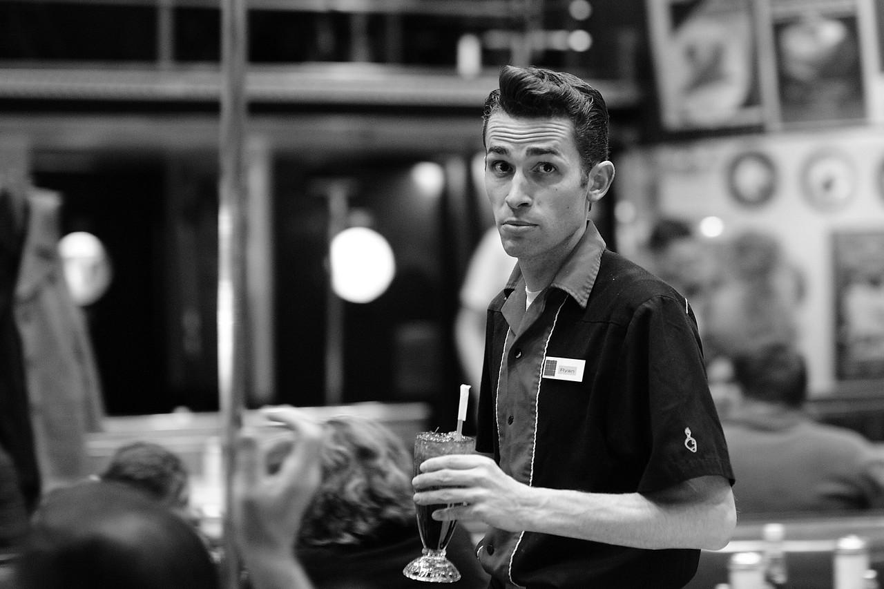 Singing Waiter