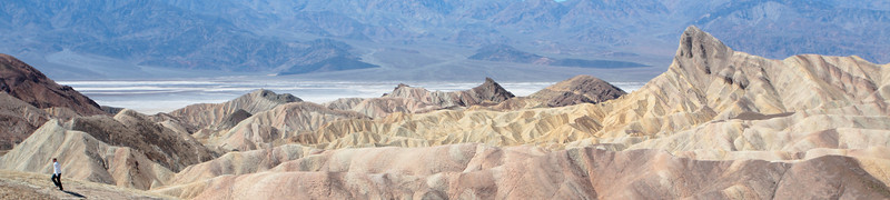 Zabriskie Point. Death Valley, CA.