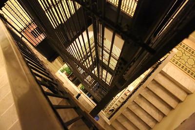 Elevator shaft for Up and Down Transportation