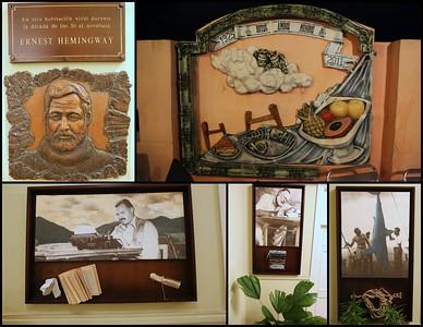"One of Hemingway's Cuba ""homes""."