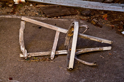 Remnants of a Chair