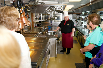 Our chef explains the inner workings of the ship's galley